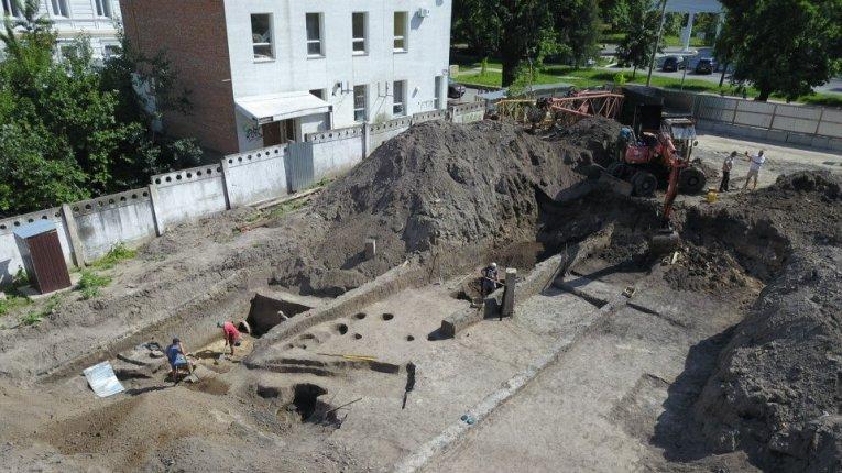 завершили розкопки в історичному центрі Полтави