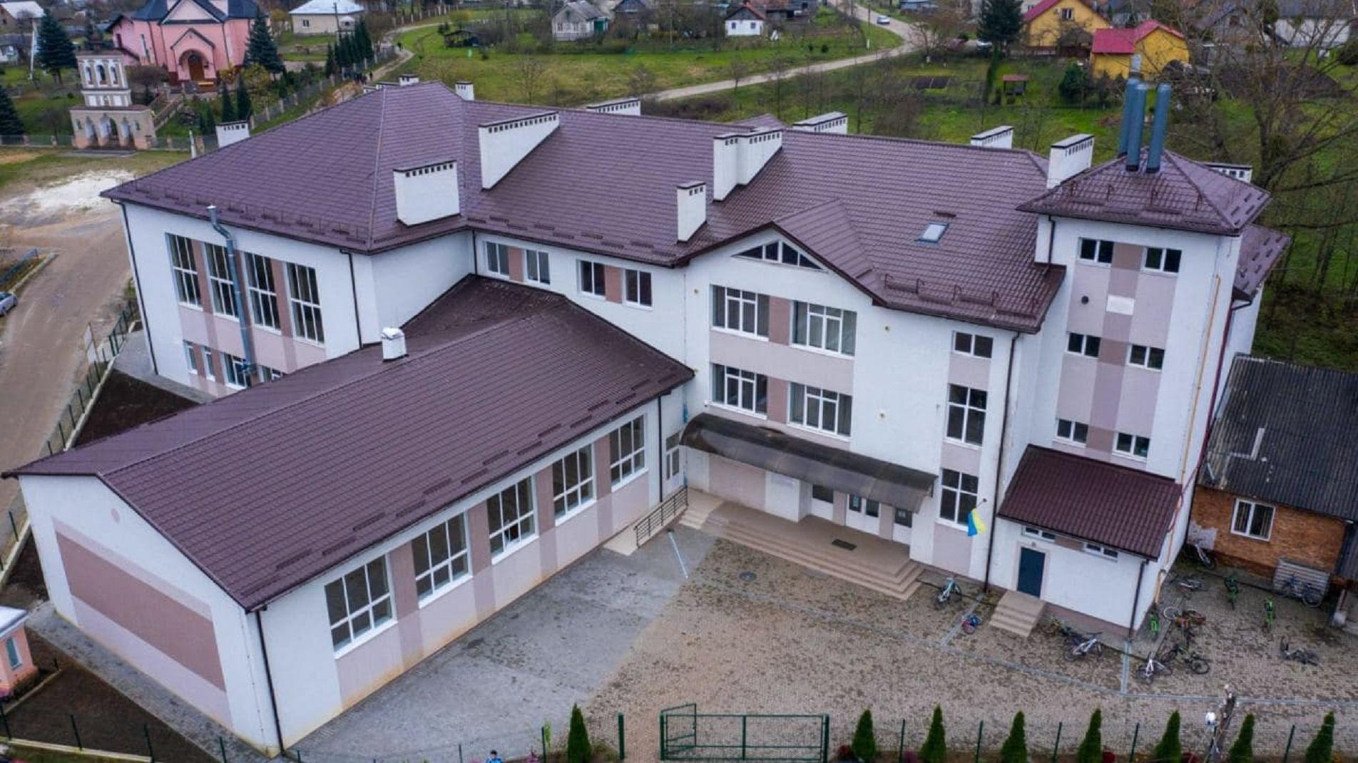 Реконструкція та добудова школи у Львівській області