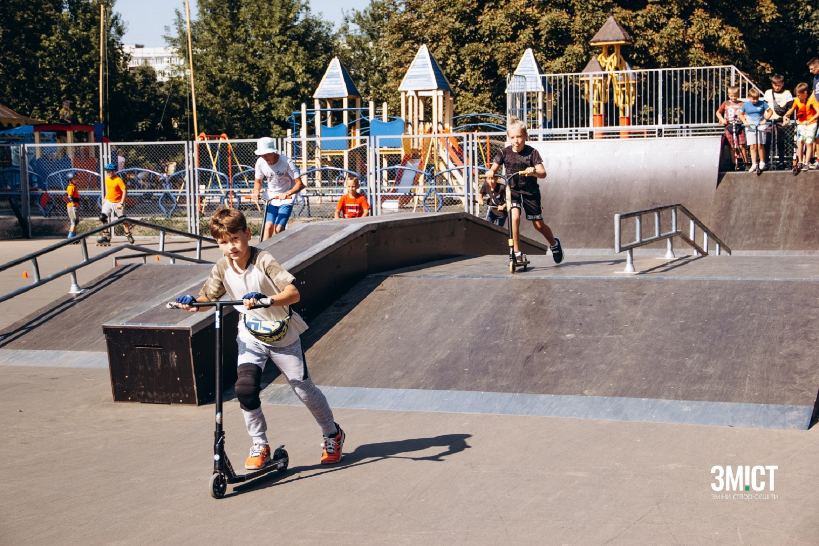 Скейтпарк у Полтаві – один із реалізованих проєктів-переможців міського «Бюджету участі 2018». Ілюстративне фото
