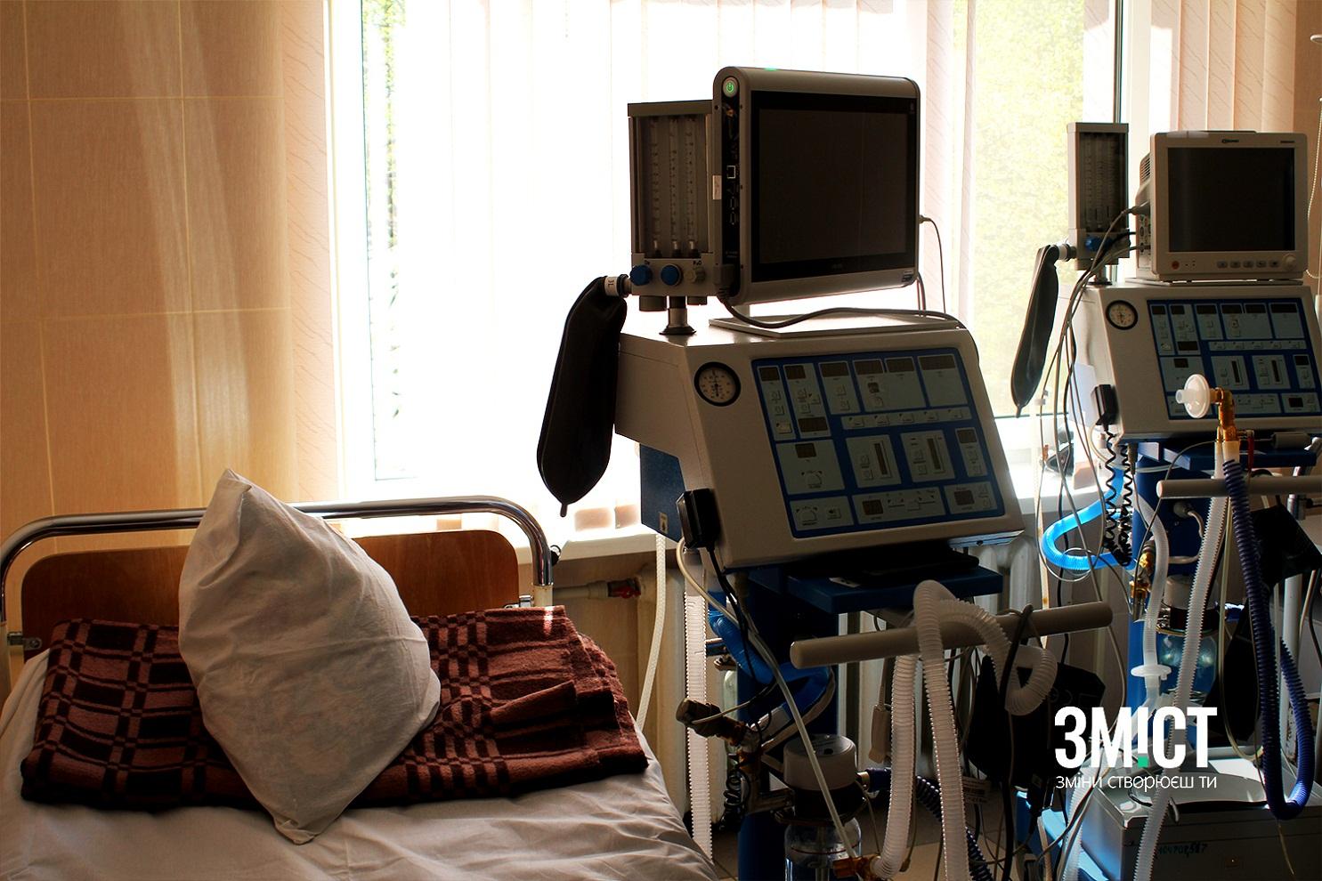 Лікарні Полтави мають понад 100 вільних ліжок для хворих на коронавірус