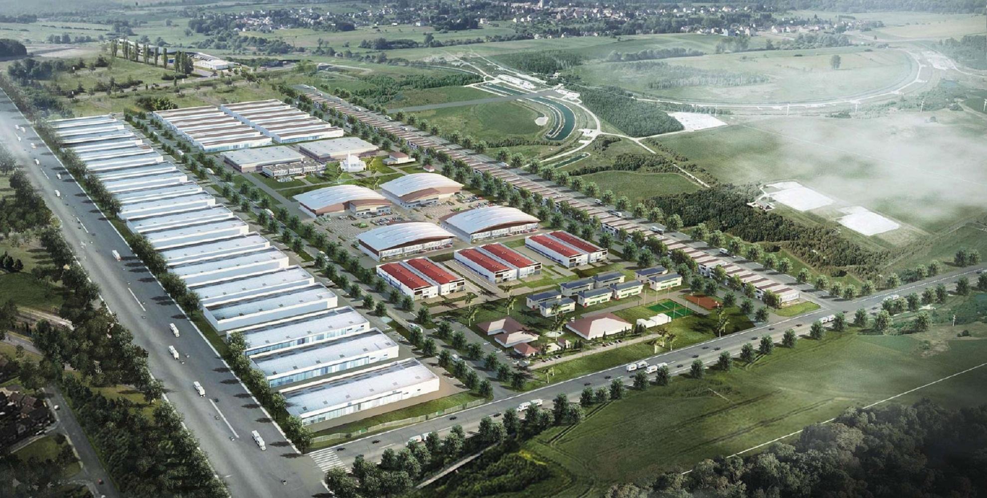 Індустріальний парк, який будуватимуть у Хмельницькому