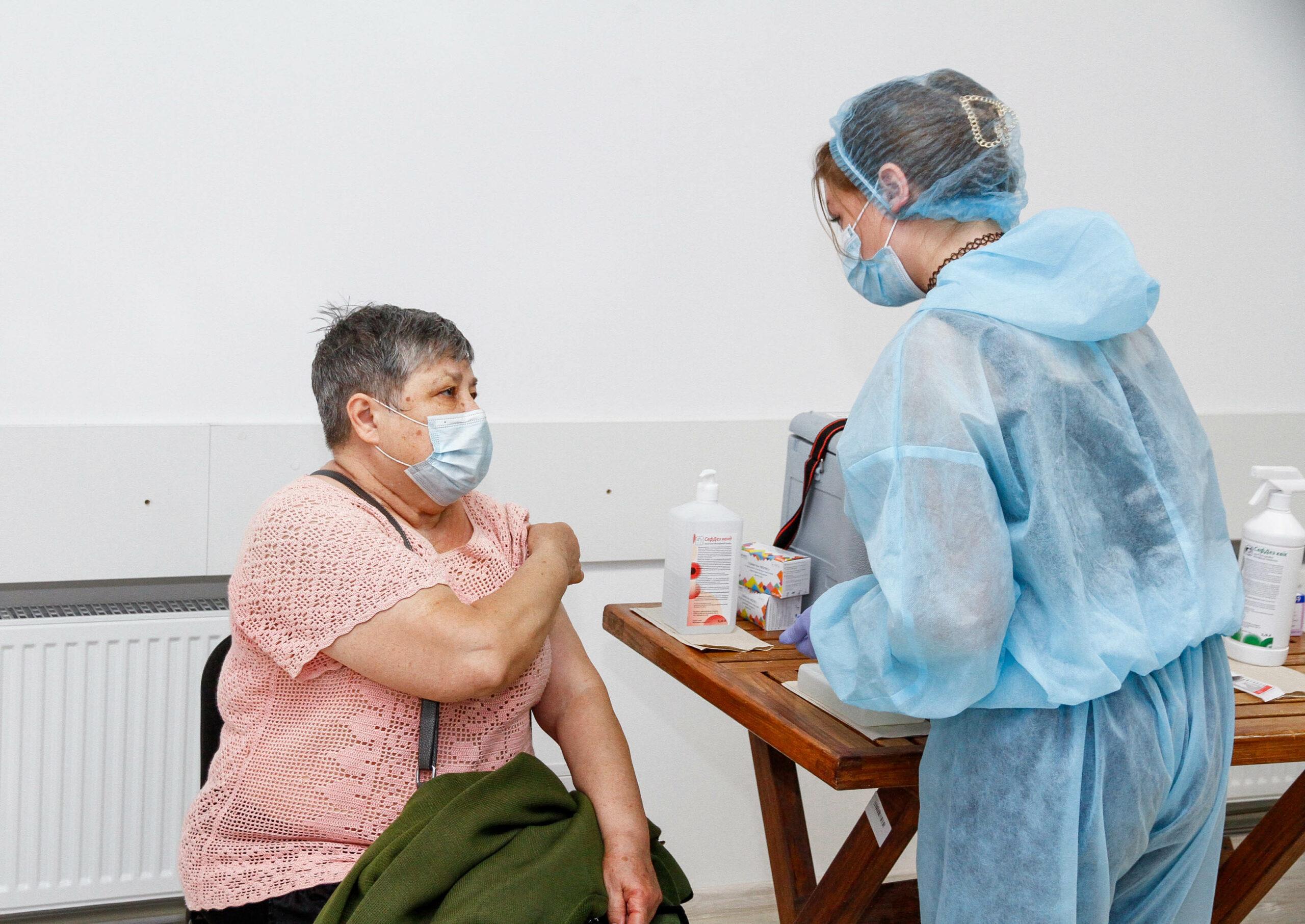Вакцинація у Полтаві. Ілюстративне фото