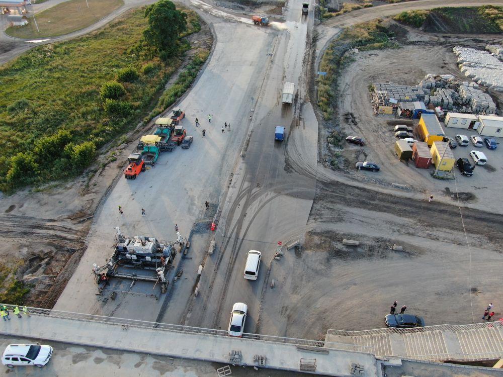 Будівництво траси Дніпро – Решетилівка (Фото – Андрій Даценко)