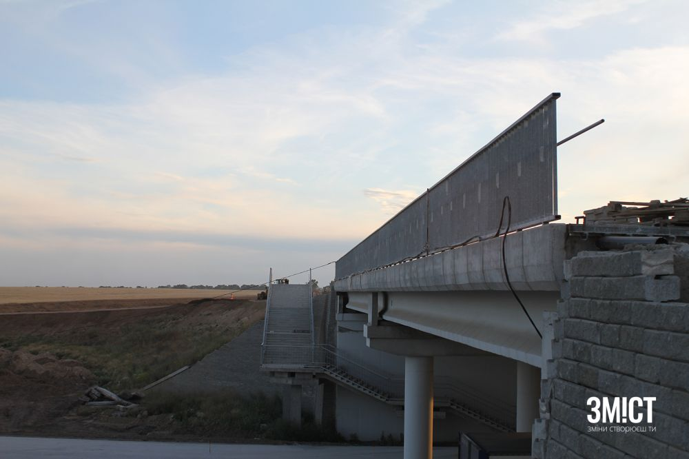 Міст поблизу Кобеляк