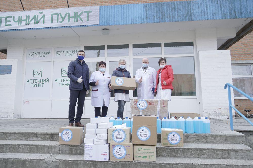 Полтавським лікарям передали засоби інфдиіві