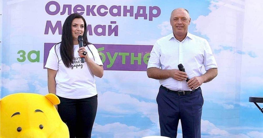 Маріанна Соліман з Олександром Мамаєм (Фото– з особистої сторінки Маріанни Соліман)