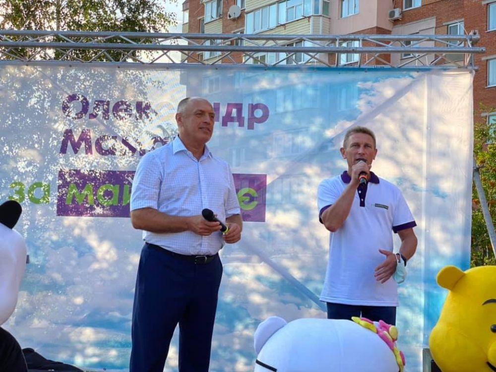 Валерій Пархоменко (Фото з сторінки Олександра Мамая)