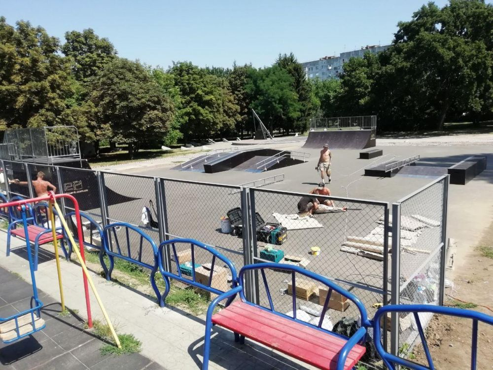 Скейтпарк у Полтаі добудували