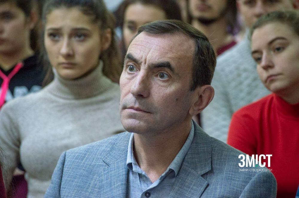 Полтаський журналіст Сергій Блавацький