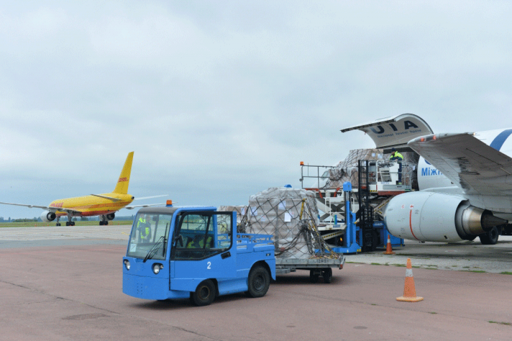 Вантажний термінал в аеропорту «Бориспіль»