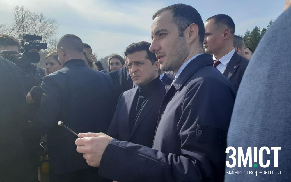 Володимир Зеленський та Олександр Кубраков