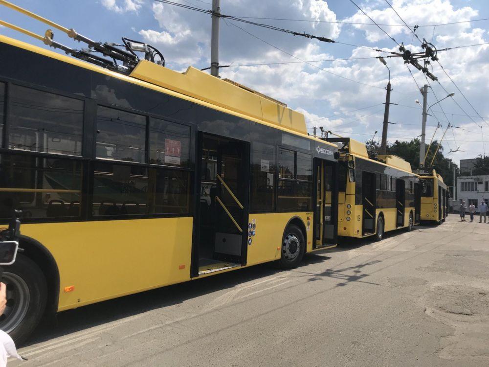 На КП місця для всіх тролейбусів може не вистачити