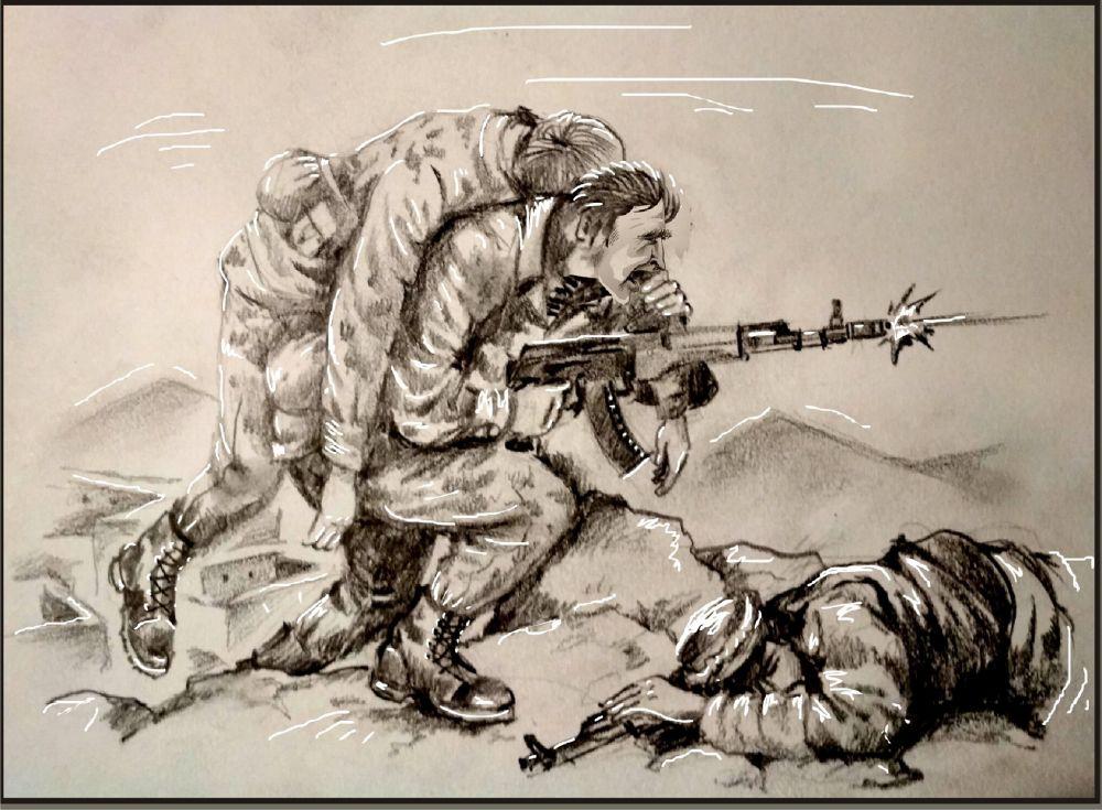 Малюнок Михайла Шлафера