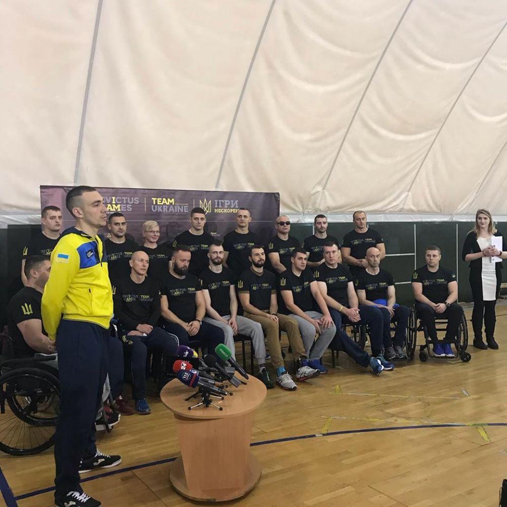 Збірна, яка представить Україну на змаганнях у Гаазі (Фото з особистої фб-сторінки АТОвця)