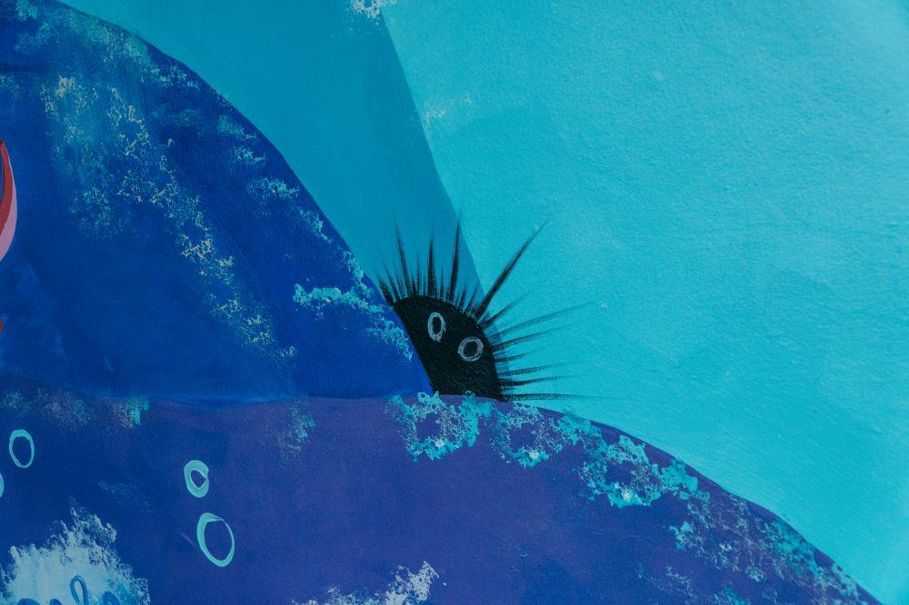 Волонтери створили мурал на морську тематику