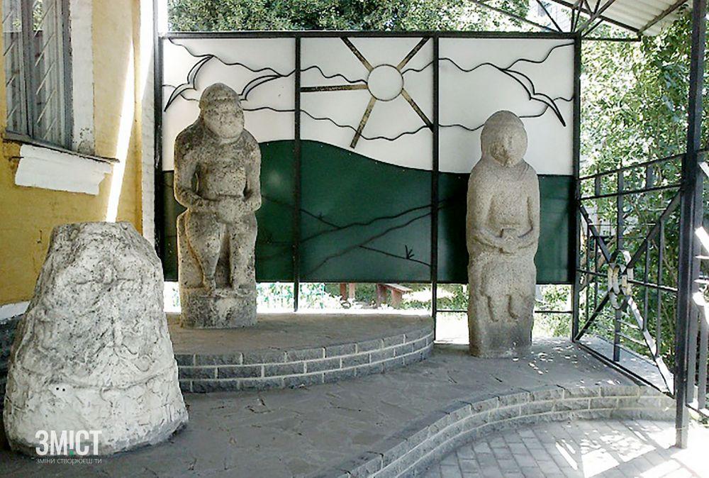 Двір Краєзнавчого музею у Лубнах. Фото – з вільних джерел